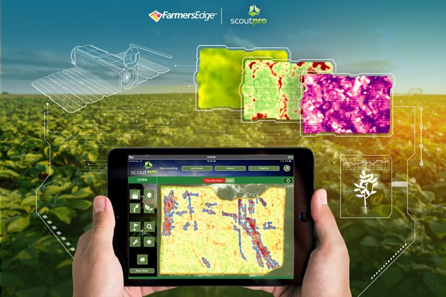 ScoutPro, Farmers Edge collaborate on crop monitoring technology