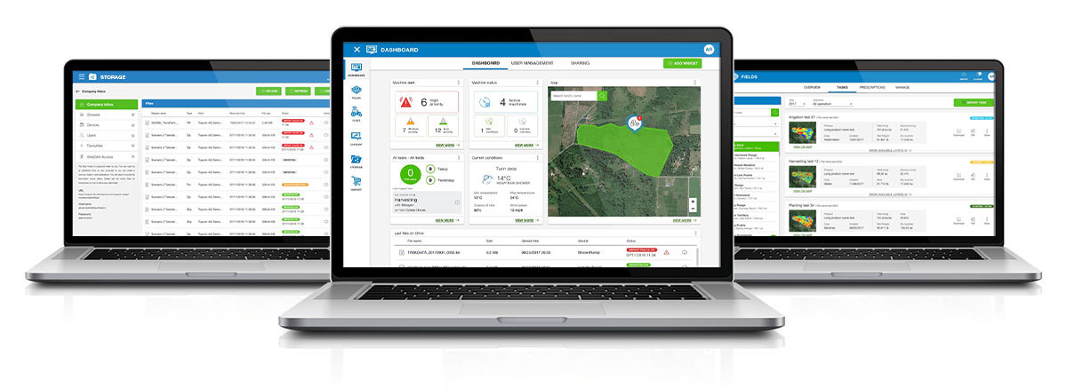 Image: TAP and Cloudlynk connectivity devices have availability in Europe. Photo: Courtesy of Topcon/Business Wire.