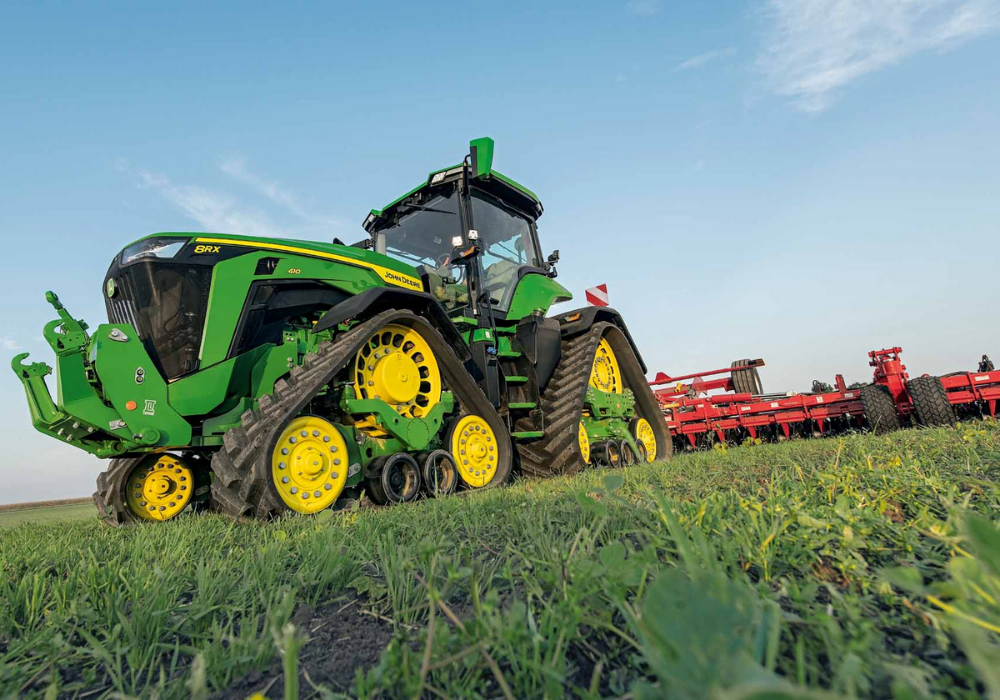 Boss of John Deere subsidiary on how it's using machine learning in agriculture