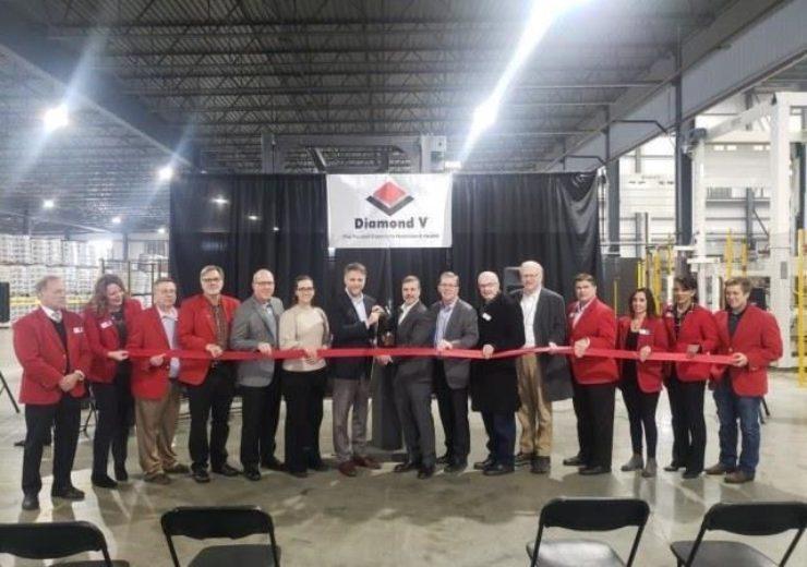 Cargill's Diamond V expands Cedar Rapids manufacturing plant in US