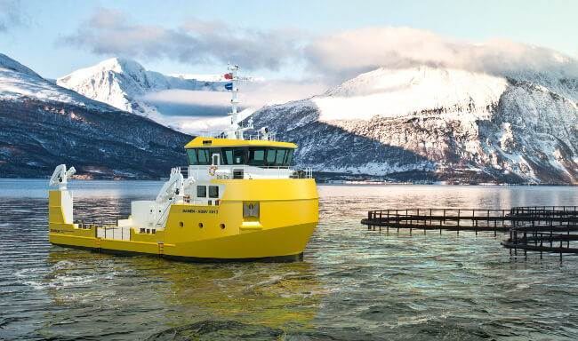 Damen's new UV 2613 vessel. (Credit: Damen Shipyards Group.)