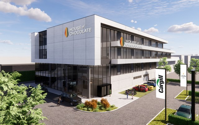 Cargill has commenced construction on new House of Chocolate complex at Mouscron site. (Credit: PRNewswire / Cargill, Inc)