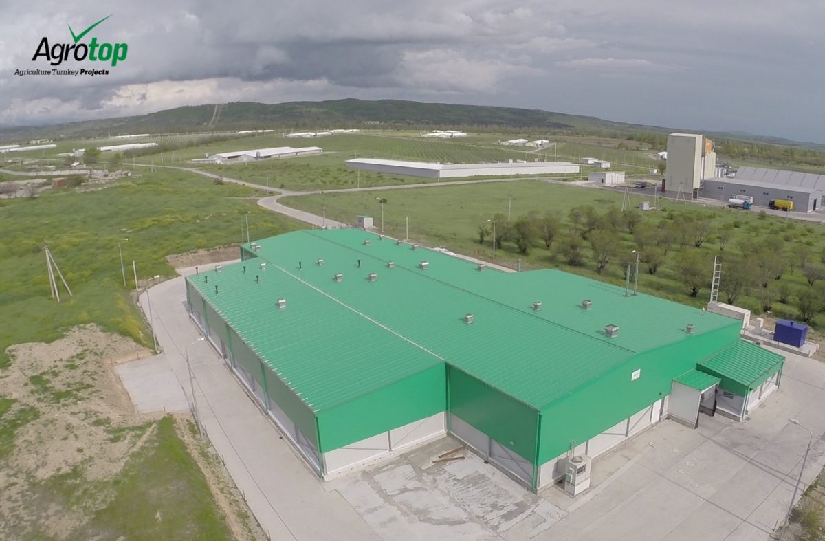 Agrotop to build new meat processing plant in Georgia. (Credit: Agrotop LTD.)
