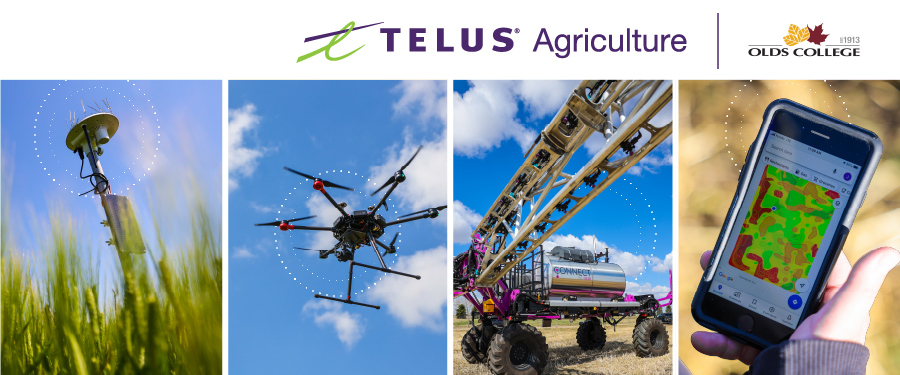 TELUS Agriculture invests $1m in Olds College Smart Farm. (Credit: Olds College.)